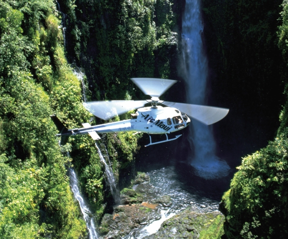 HelicopterVan Hana Tour Combo  SkyTrek HeliVan Combo Tour To Hana