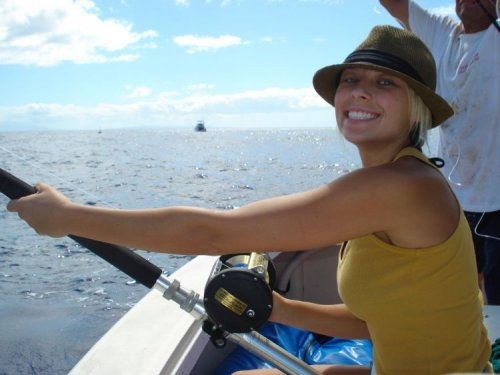 Kona activities kona private sportfishing kona fishing for Start me up fishing