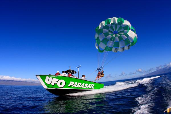 Parasailing On Maui With Ufo Parasail